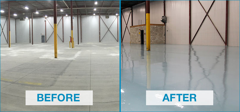 Concrete Floor Surface Preparation